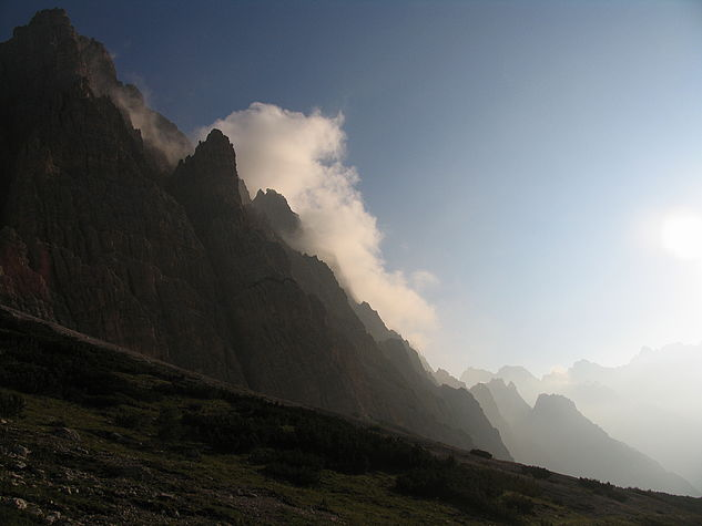 Morgenstimmung an der Forcella